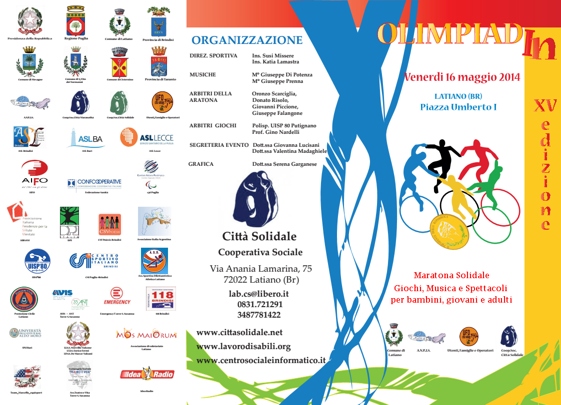 brochure olimpiadi in 2014
